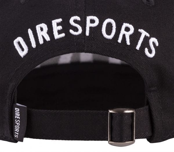Detail achterkant sluiting DIREsports baseball Cap DIRE